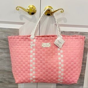 Kate Spade Tote Bag Purse Beach Bag Weekender NEW